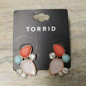 Torrid Assorted colored stones Earrings